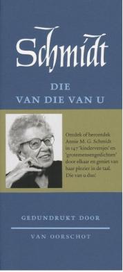 Annie M.G. Schmidt boeken - Die van die van u
