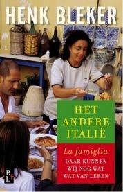 Henk Bleker boeken - Het andere Italie