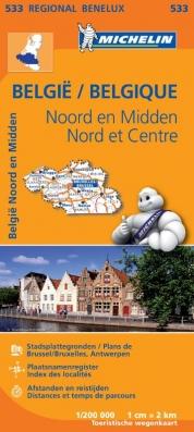 533 België Noord en Midden - Belgique Nord et Centre
