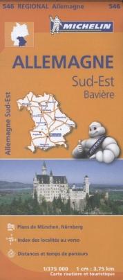 546 Allemagne Sud-Est, Bavière - Zuidoost-Duitsland, Beieren