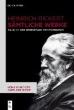 Heinrich Rickert boeken