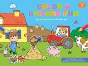 Color & sticker fun - Op de boerderij vanaf 3 jaar