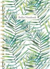 Leaves spiraalboek klein (bullet) / Leaves petit carnet à spirale (bullet)