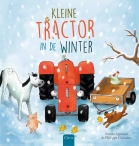 Kleine Tractor in de winter