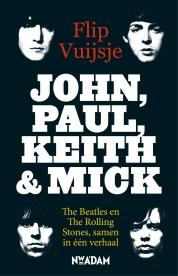 Flip Vuijsje boeken - John, Paul, Keith and Mick