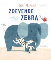 Zoevende zebra