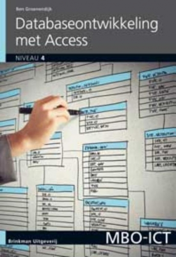 Database-ontwikkeling met Access 2010