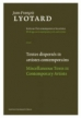 Jean-Fracois Lyotard boeken