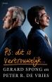 Gerard Spong, Peter R. de Vries boeken