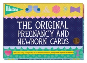 Pregnancy and newborn photo cards original