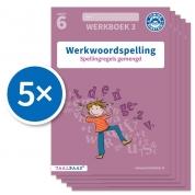 Werkwoordspelling werkboek 3 groep 6 (Set van 5)